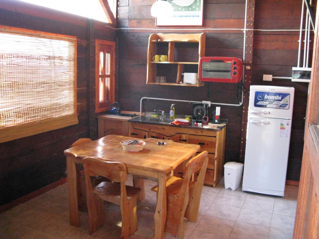 Vista (cocina/living/comedor)